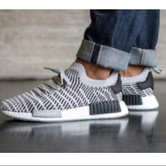 b6026c3d416b6 Adidas NMD R1 STLT primeknit shoes size 10 NWT
